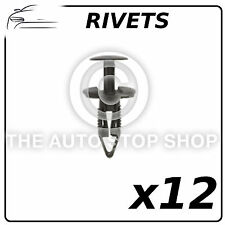 Clips Plastic Rivets Fiat Panda/500L Pack of 12633 Pack of 12 In Plastic Bag