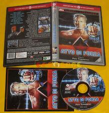 ATTO DI FORZA (Arnold Schwarzenegger) Ed. Cecchi Gori Dvd »»»»» USATO