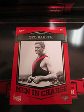 2013 ESSENDON BOMBERS 140 YEAR LIMITED SYD BARKER MEN IN CHARGE CARD 073