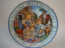 ROYAL DOULTON BLESS THIS HOUSE BOTH NIGHT AND DAY, TEDDY BEAR PLATE