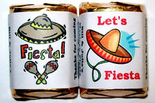 MEXICAN FIESTA PARTY FAVORS CANDY WRAPPERS