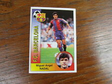 FOOTBALL STICKER PANINI collector : MIGUEL ANGEL NADAL BARCELONA LIGA 1994-1995