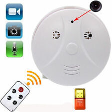 Mini SPY HD DVR Hidden Camera Smoke Detector Motion Detection Video Recorder Cam