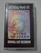 A Time To Stand Jeff Walling Randy Gill Original Cast Recording Cassette Tape