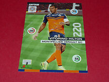 V. HILTON MONTPELLIER MHSC MOSSON FOOTBALL ADRENALYN CARD PANINI 2015-2016