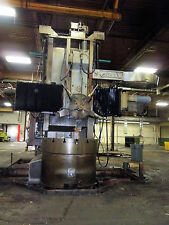 48 inch Gray vertical lathe vbm vtl CNC 72 under rail 54 to 56 swing range