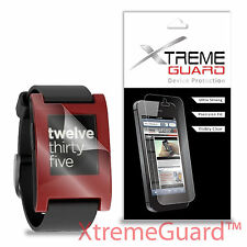 NEW XtremeGuard Clear LCD Screen Protector Shield Skin For Pebble Smartwatch