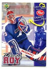 1996-97 Post Upper Deck 18 Patrick Roy