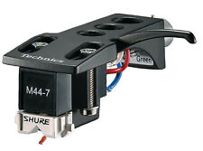 Shure M44-7H Cartridges On Technics Headshells - PAIR