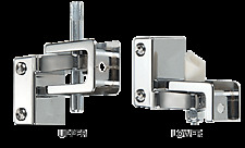 CRL Chrome Gravity Hinge Assembly for Restroom Partitions