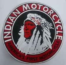 Indian Motorcycle 10 inch America's First patch. Nice New