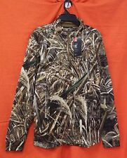 UNDER ARMOUR Storm Icon Camo 1/4 Zip L/S Men's (L) #1291448-900 Realtree Max-5
