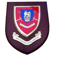 Army Training Centre Pirbright Military Wall Plaque UK Made for MOD