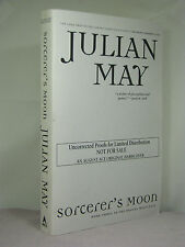 1st,signed by author,Boreal Moon 3:Sorcerer's Moon, Julian May,uncorrected proof