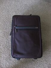 Tumi Alpha International Expandable Wheeled Carry-On Luggage (Chianti/Purple)