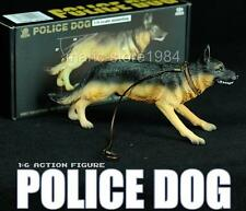 "1:6 Scale SWAT Police Dog for 12"" Soldier Action Figure Toys Accessories"