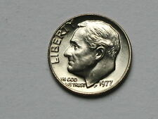USA 1977 10 CENTS Roosevelt Dime Coin UNC BU