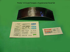 POCHER 1/4 DUCATI 1299 PANIGALE S SUPPLEMENTAL DECAL SET