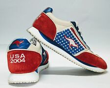 Kangaroos Mens Shoes Size 10 USA 2004 Red White and Blue EUC FREE Shipping