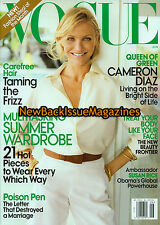 Vogue 6/09,Cameron Diaz,June 2009,NEW