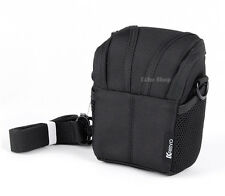 Camera Shoulder Waist Case Bag For Olympus STYLUS SH-1 SH-60 SZ-17 XZ-1