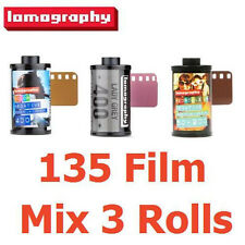 MIX 3 Rolls Lomography Negative 400 + Lady Grey B&W + REDSCALE XR 50-200 135-36