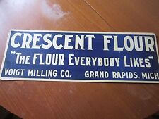"CRESCENT FLOUR SIGN 20""X7"""