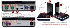 Wireless 5.8Ghz Video Audio Transmitter + IR Extender + Adjustable Panel Antenna