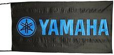 Large Yamaha flag (black / blue) 1500mm x 740mm      (of)
