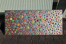 abstrakte Acryl XXL Bilder / Wandelement moderne Gemälde Handgemalt Neu