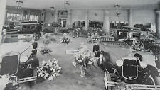 """12 By 18"""" Black & White Picture Ford 1930 -1931 Dealership Showroom"""