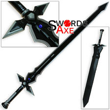 Sword Art Online Dark Repulser Kirito Kirigaya Kazuto - Black SAO Steel Replica