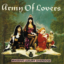 "Army of Lovers ""Massive Luxury Overdose"" CD Album (New & Not Sealed)"