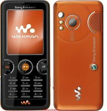 Sony ERICSSON w610i Walkman Orange (Senza SIM-lock) 3 nastro 2mp mp3 RADIO COME NUOVO