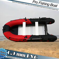 New 0.9mm PVC 11.8' Inflatable Boat Fishing Boat Tender Dinghy Kayak Zodiac Type