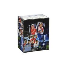 2015-16 CHAMPIONS LEAGUE STICKERS SEALED 50 PACK BOX 5 STICKERS PER PACK + ALBUM