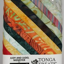 """Bird of Paradise"" Fat Quarters Judy and Judel Niemeyer for Timeless Treasures"