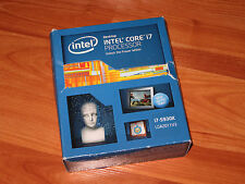 New Intel Core i7 5930K 6 Core 3.5 GHz LGA 2011-v3 140W CPU warranty 02/27/2020