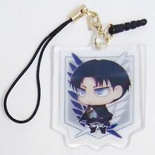 Attack on Titan Levi Ear phone jack accessory Cell phone charm Japan