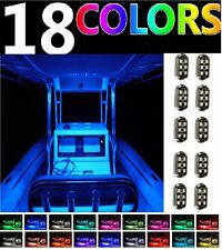 Universal BENNINGTON Pontoon Boat Marine Deck LED Neon Glow 12v Pod Lighting Kit