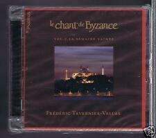 CHANT DE BYZANCE CD NEW VOL 1 LA SEMAINE SAINTE / FREDERIC TAVERNIER VELLAS