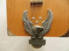 Cigar Box Guitar Acoustic Electric Harley DIE CAST EAGLE  #137