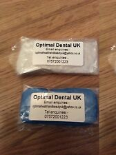 DENTAL IMPRESSION PUTTY MATERIAL X 2  PIECES REGULAR SEALED UK SELLER