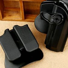Double Paddle Pistol Holster Magazine Pouch Tactical Combo Set for Beretta 92 96