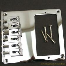 Electric guitar 6 string saddle chrome bridge with humbucker slot TL NEW