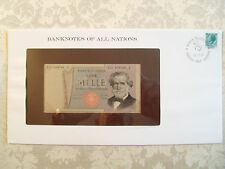 Banknotes of All Nations Italy 1000 Lire 20.2.1980 UNC P101g Prefix RD