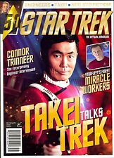 STAR TREK The Official Magazine Spring 2016 CONNER TRINNEER TAKEI TALKS TREK