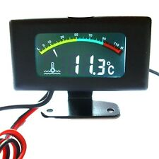 DC12V 24V 36V Digital Thermometer LED Water Temp Gauge Tank Car Motor -10~100C