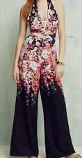 BNWT*MONSOON* 14 (UK) LUPIN MULTI FLORAL PRINT JUMPSUIT,WIDE LEGS,PARTY EVENING
