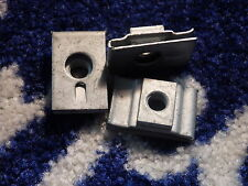 3 X GENUINE FORD ESCORT MK4  FUEL TANK CLIPS NEW OLD STOCK